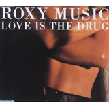 Cd Single   Roxy Music   Love Is The Drug  1990    excelente