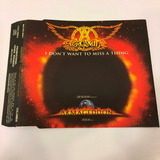 Cd Single Aerosmith I Don t Want To Miss A Thing Frete 9 00