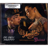 Cd Single Anitta E Mc Guimê Promo 2015 Lacrado