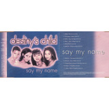Cd Single Destiny s Child Say My Name Promo 2000 Usado
