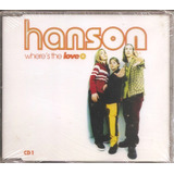 Cd Single Hanson Where Is The Love Importado