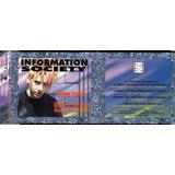 Cd Single Information Society Express Yourself Promo Brasil