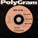 Cd Single Joan Osborne One Of Us 1996 Promo Usado
