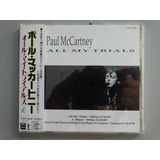 Cd Single Paul Mccartney All My Trials Japonês C  Obi Raro