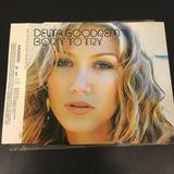Cd Single Promo Delta Goodrem   Born To Try Brasil Original