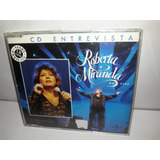Cd Single Roberta Miranda A Magestade Ao Sabiá 2000 Semi Nov