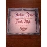 Cd Single Shabba Ranks   Family Affair   Família Addams
