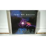 Cd Single Taraz   Feel My Desire Freestyle Raro Coleçao