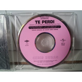 Cd Sinlge Chris Duran   Te Perdi Remix Cuca Eurodance Raro