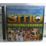 Cd Sítio Do Picapau Amarelo Raro Não Xuxa Eliane Angelica