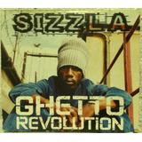 Cd Sizzla   Ghetto Revolution  black   Reggae 2002 Importado