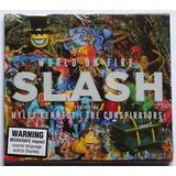 Cd Slash   World On Fire Importado Novo Lacrado Guns N Roses