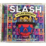 Cd Slash Living The Dream Frete Grátis