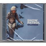 Cd Snow Patrol   Wildness Cd Original Novo E Lacrado 2018