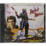 Cd Soundtrack Mad Max   Brian May   Lacrado   Importado