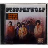 Cd Steppenwolf Steppenwolf Born To Be Wild Mca Eua Lacrado