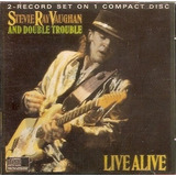 Cd Stevie Ray Vaughan And Double Trouble   Live Alive   Novo