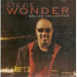 Cd Stevie Wonder   Ballad Collection