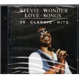 Cd Stevie Wonder   Love Songs   20 Classic Hits