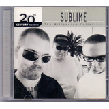 Cd Sublime   Yhe Best Of   20th Century Masters   Novo