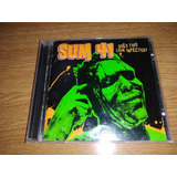 Cd Sum 41   Does This Look Infected?  importado  311 Korn