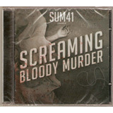 Cd Sum 41   Screaming Bloody Murder   Novo