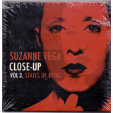 Cd Suzanne Vega   Close up Vol  3  States Of Being   Novo