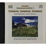 Cd Svenska Sommarfavoriter 2 Sommar Jerker Johansson   A6