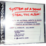 Cd System Of A Down   Steal This Album