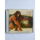 Cd Tarzan Disney Trilha Sonora Original Phill Collins