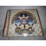 Cd Technotronic Recall 1995 Br