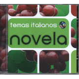 Cd Temas De  Novelas   Músicas Italianas   Novela