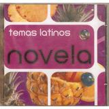Cd Temas Latinos   Novelas