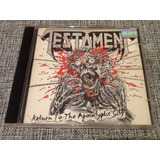 Cd Testament   Return To The Apocalyptic City   Raro