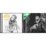 Cd Thalia Amore Mio Deluxe  c  Fat Joe  Becky G    Cd Maluma