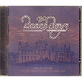 Cd The Beach Boys Live   Good Timin   Novo