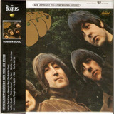 Cd The Beatles   Rubber Soul Mini Lp   Novo