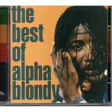 Cd The Best Of   Alpha Blondy
