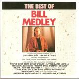 Cd The Best Of   Bill Medley