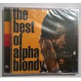 Cd The Best Of Alpha Blondy Novo Lacrado