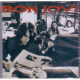 Cd The Best Of Bon Jovi   Cross Road   Novo Lacrado