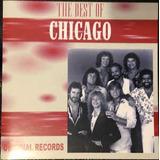 Cd The Best Of Chicago Original Novo Lacrado