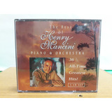 Cd The Best Of Hennry Mancini Piano E Orchestra 3 Cds Raro