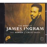 Cd The Best Of James Ingram   The Power Of Great Music   Imp