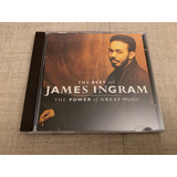 Cd The Best Of James Ingram The Power Of Great Importado