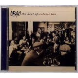 Cd The Best Of Ub40 Volume Two 1995 Virgin Made Eua Lacrado