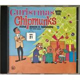 Cd The Chipmunks Christmas With The Chipmunks Imp Usa   D2