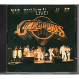 Cd The Commodores   Live