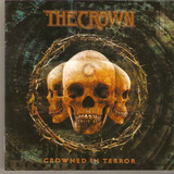 Cd The Crown   Crowned In Terror   Novo