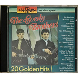 Cd The Everly Brothers 20 Golden Hits Imp Holland   C3
